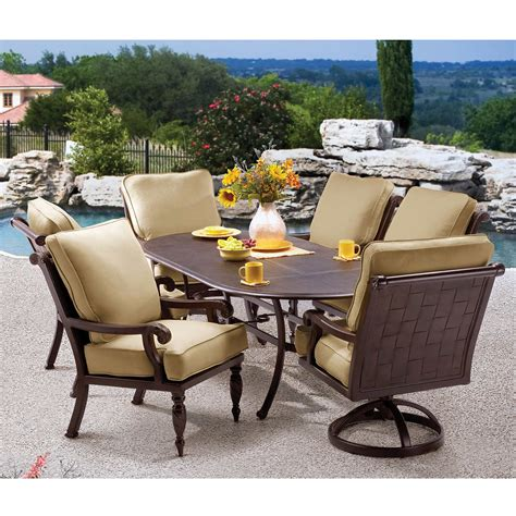 costco outdoor patio dining sets patio furniture sets costco