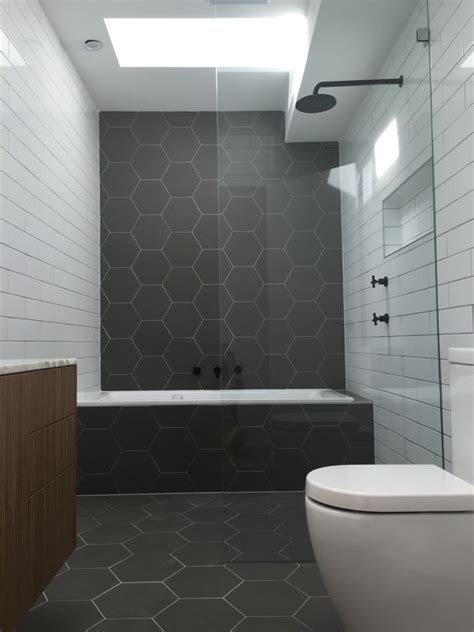 bathroom hexagon tile 30 matte tile ideas for kitchens and bathrooms digsdigs
