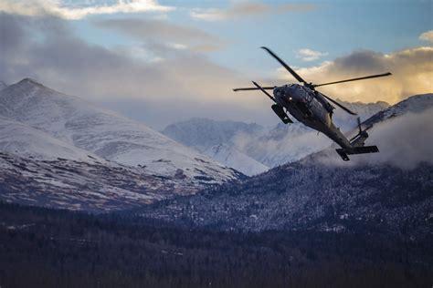 Alaska Air National Guard members rescue snowmobiler ...
