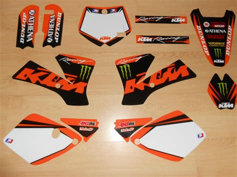 kit deco 125 sx 2006 kit d 233 co complet ktm sx 65 02 224 08 rd2shop fr