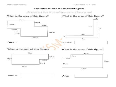 worksheet area of complex shapes worksheet grass fedjp