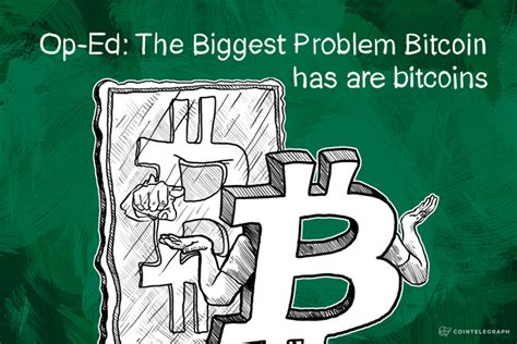 Bitcoin's blocks contain the transactions on the bitcoin network.:ch. Op-Ed: The Biggest Problem Bitcoin has are bitcoins