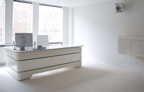 bureau de direction blanc bureau de direction rknl20 studio de création de meubles