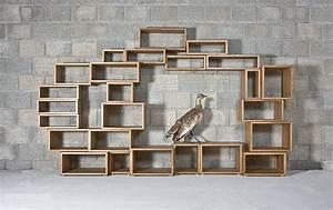 Bücherregal Selber Bauen Kreativ : flexibles regal passt sich individuell jedem raum an ~ Markanthonyermac.com Haus und Dekorationen
