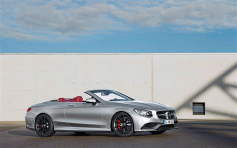 S63 Amg Cabriolet by 2016 Mercedes Amg S63 Cabriolet Wallpapers Hd