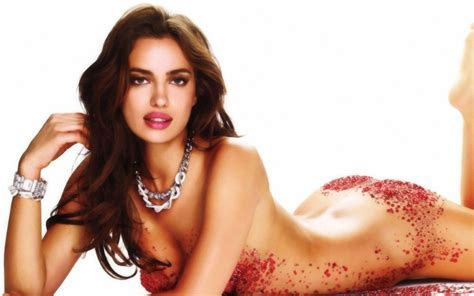 Irina Shayk Strikes It Lucky In Low Cut Outfit World