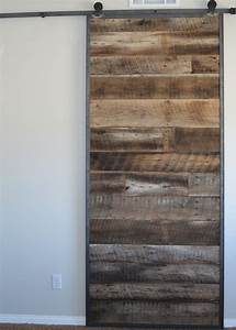 redeemed wood and metal works With barn door metal frame
