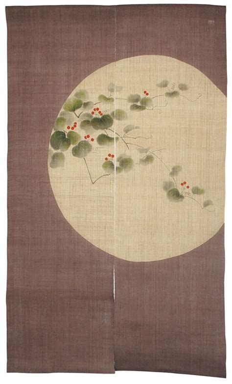 japanese shoji divider  noren curtains interior design