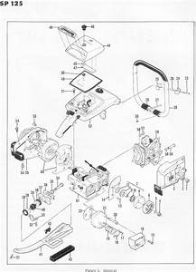 Mcculloch Sp 125 600076 Chainsaw Parts List  1971