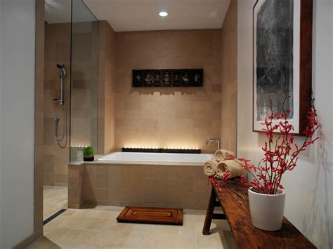 Spa Inspired Bathroom by Spa Inspired Master Bathroom Hgtv