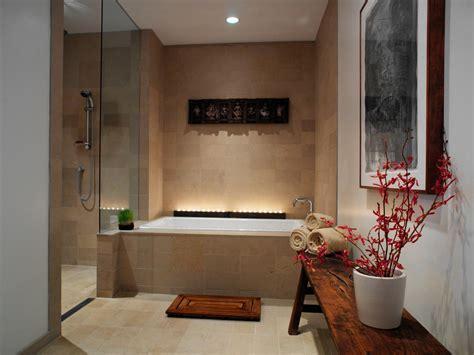 Spa like windowless bathroom