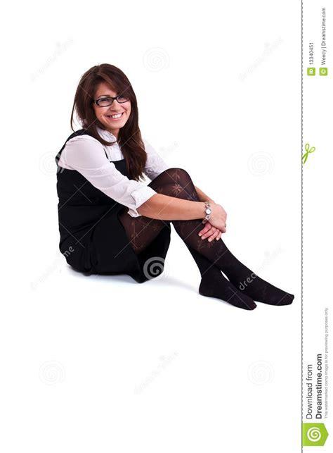 femme de m age bureau femme de bureau dans le studio image stock image 13340451