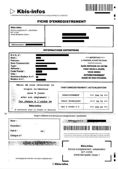 chambre de commerce extrait kbis modele lettre demande extrait kbis document