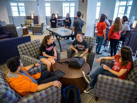 living  campus residence life montclair state university