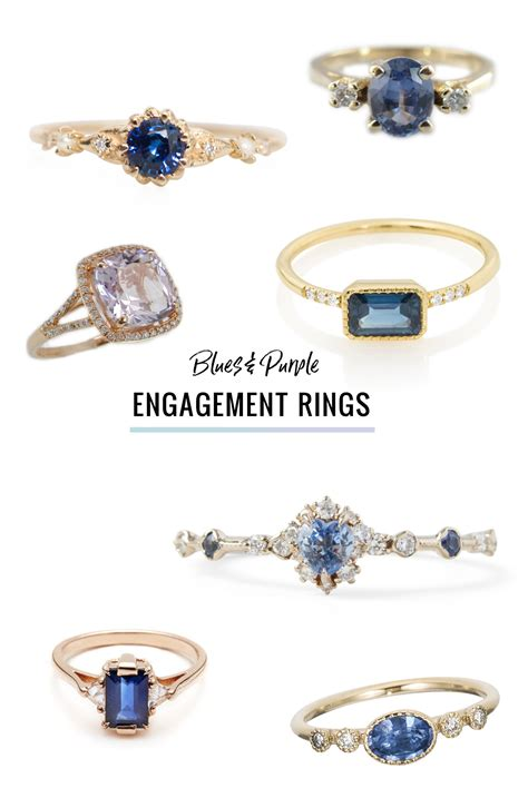 wedding rings with colored stones ditch the alternative engagement rings featuring