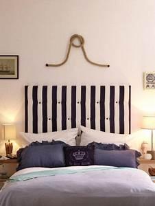 Wie Geht Französisch Im Bett : diy idee so einfach basteln sie ein betthaupt diy ideen pinterest ~ Watch28wear.com Haus und Dekorationen