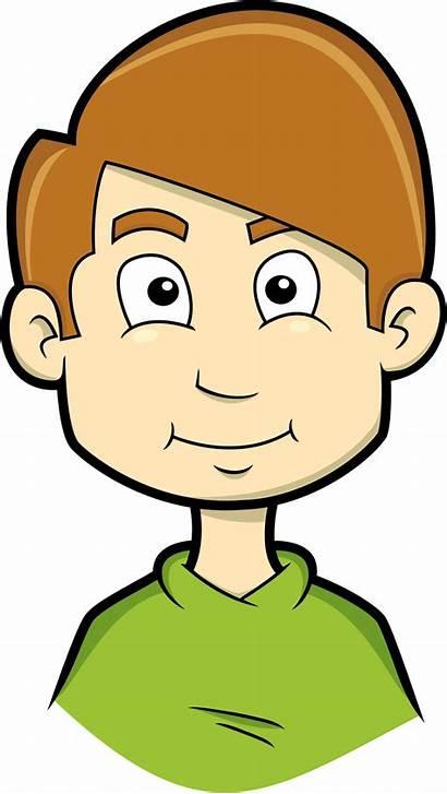 Clipart Face Boy Child Kid Clip Happy
