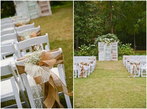 deco chaise mariage decoration mariage fleurs blanches idées et d