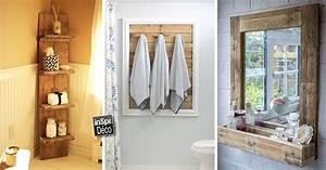 Idee Deco Avec Des Photos : d co salle de bain avec des palettes 20 id es pour vous ~ Zukunftsfamilie.com Idées de Décoration