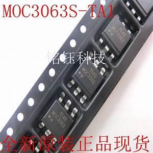 100pcs  Lot Moc3063s Ta1 Moc3063s Moc3063 Sop6
