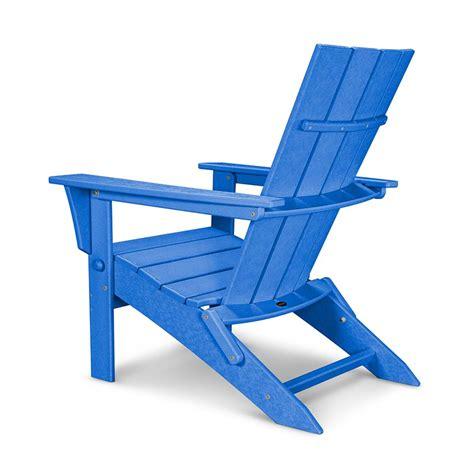 quattro folding adirondack chair polywood 174 all weather