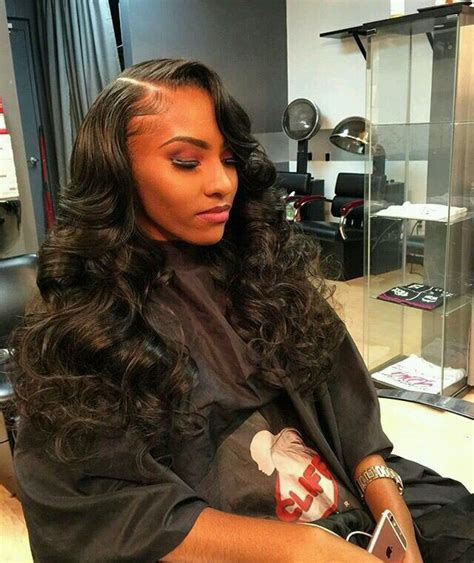 Wave Sew In Hairstyles by Side Part Sew In Cliff Vmir Hair Work