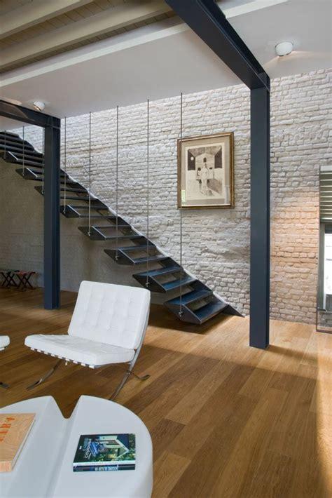 aménagement chambre à coucher le mur en brique décors spectaculaires archzine fr