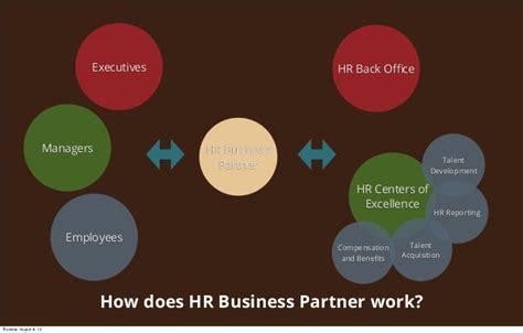 hr business partner roles  responsibilities