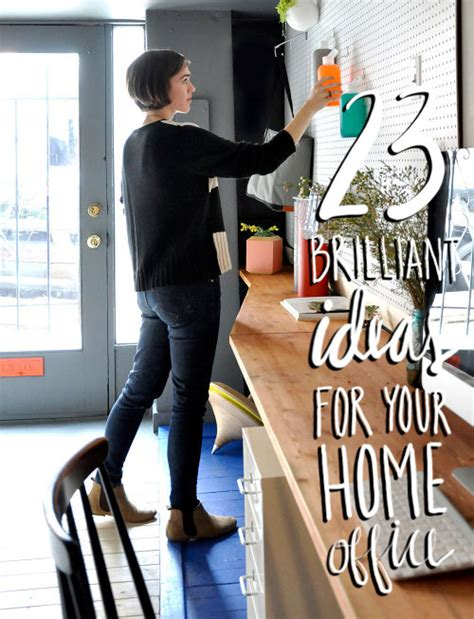 23 brilliant ideas projects for your home office design sponge