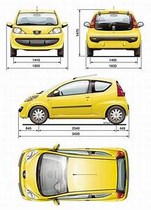 Dimension Peugeot 107 : peugeot 107 hatchback 3d dane techniczne ~ Maxctalentgroup.com Avis de Voitures