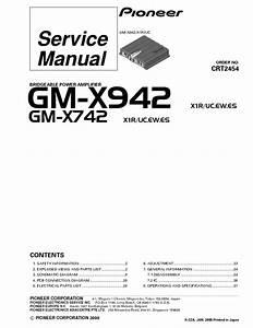 Gm-x742 Manuals