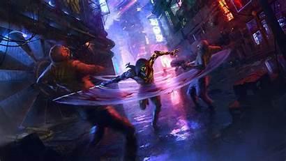 Ghostrunner Cyberpunk Ninja Geforce