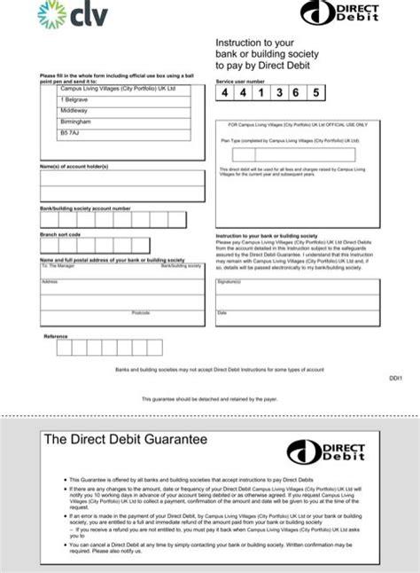 direct debit form templatesforms direct debit