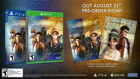 Shenmue 1 And 2 Pre-order And Release Date Guide For The