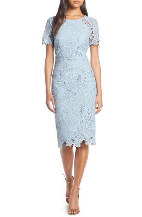 Eliza J Cap Sleeve Jewel Neck Sheath Dress | Nordstrom ...