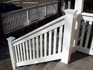 Holz Weiß Streichen Aussen : gel nder f r balkon garten und terrasse hartholz weiss ral mit 25 jahren garantie ~ Whattoseeinmadrid.com Haus und Dekorationen