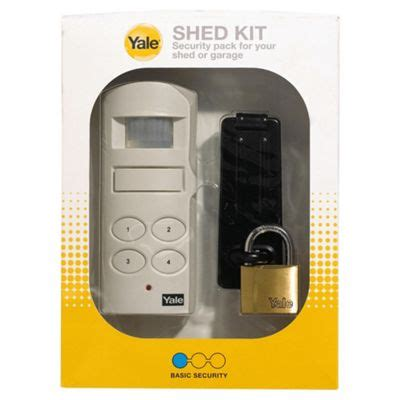 Shed Alarm Systems by Buy Yale Shed Kit Alarm System From Our Personal Alarms