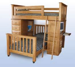 Desk Bunk Bed Combination by Loft Bed Desk Combo Furniture Homesfeed