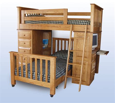 bunk bed desk combination bunk bed desk combo roole