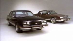U00bb 1984 Chevrolet Celebrity Eurosport  U0026 Monte Carlo Vs Ford