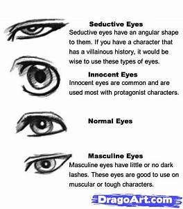 how to draw anime eyes male