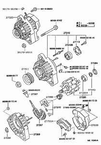 Toyota Paseo Rotor Assembly  Alternator  Usa  Mtm  Engine