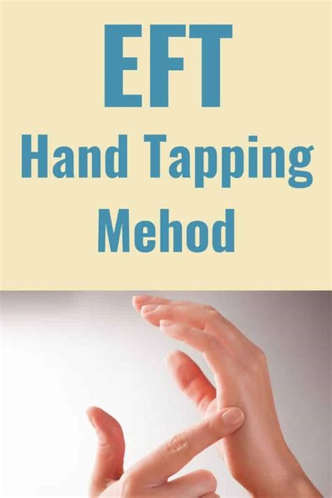 eft hand tapping emotional freedom techniques