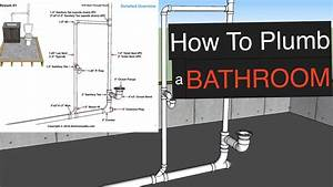 Rough In Plumbing Dimensions For Bathroom Sink