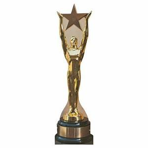 Gold Statue Award Stand Up-makes a great focal point for ...