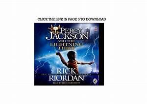Get The Lightning Thief Percy Jackson Book 1 Full Audiobook