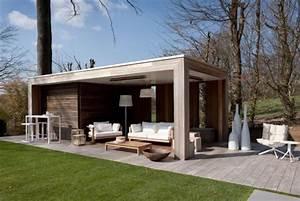 pool house house pinterest refuges ville moderne et With abri de jardin contemporain 16 cuisine en bois par perene