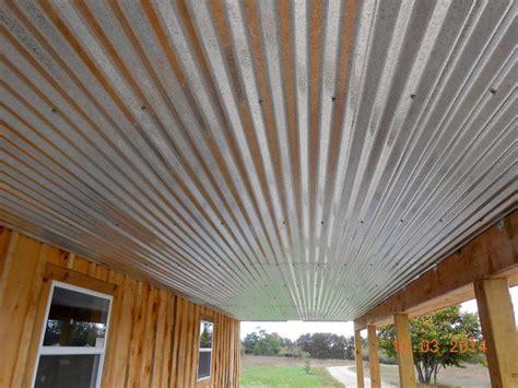 galvanized ceiling galvanized metal pinterest galvanized metal  porches