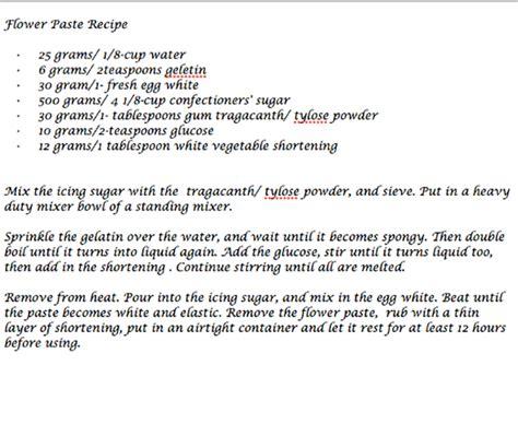 gum paste recipe flower paste lisianthus spray 5thavenuecakedesigns