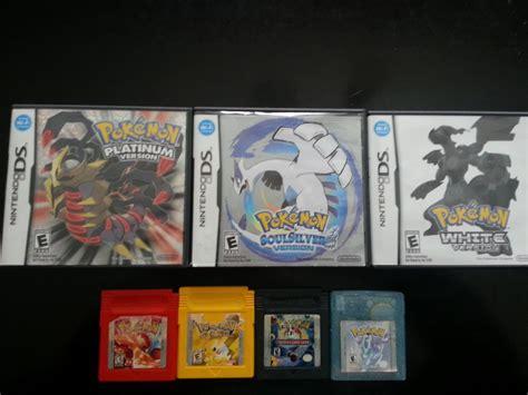 All My Pokemon Games By Superheroarts On Deviantart